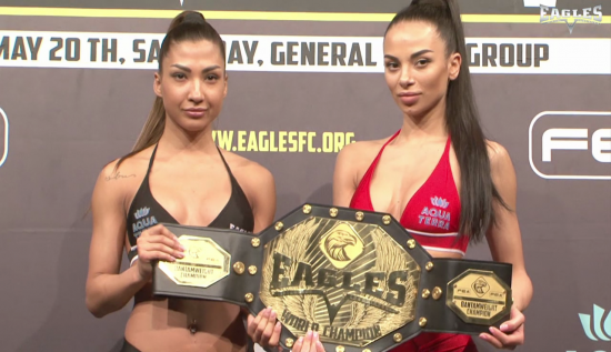 Official weigh in, EAGLES V - full video.