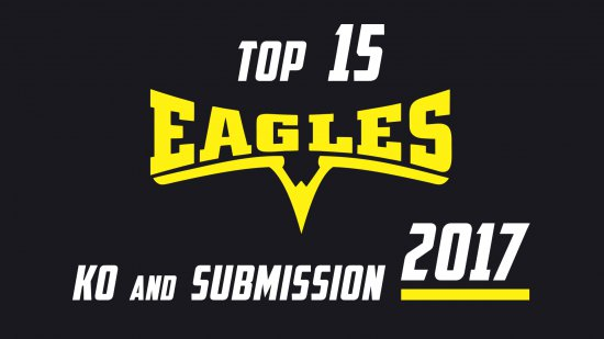 Top 15 KO`S and submissions EAGLES FC 2017