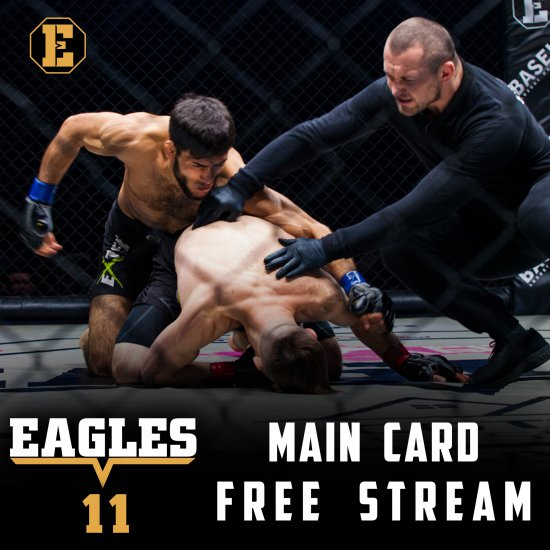 EAGLES FC 11 Main Card !!! FULL VIDEO !!!